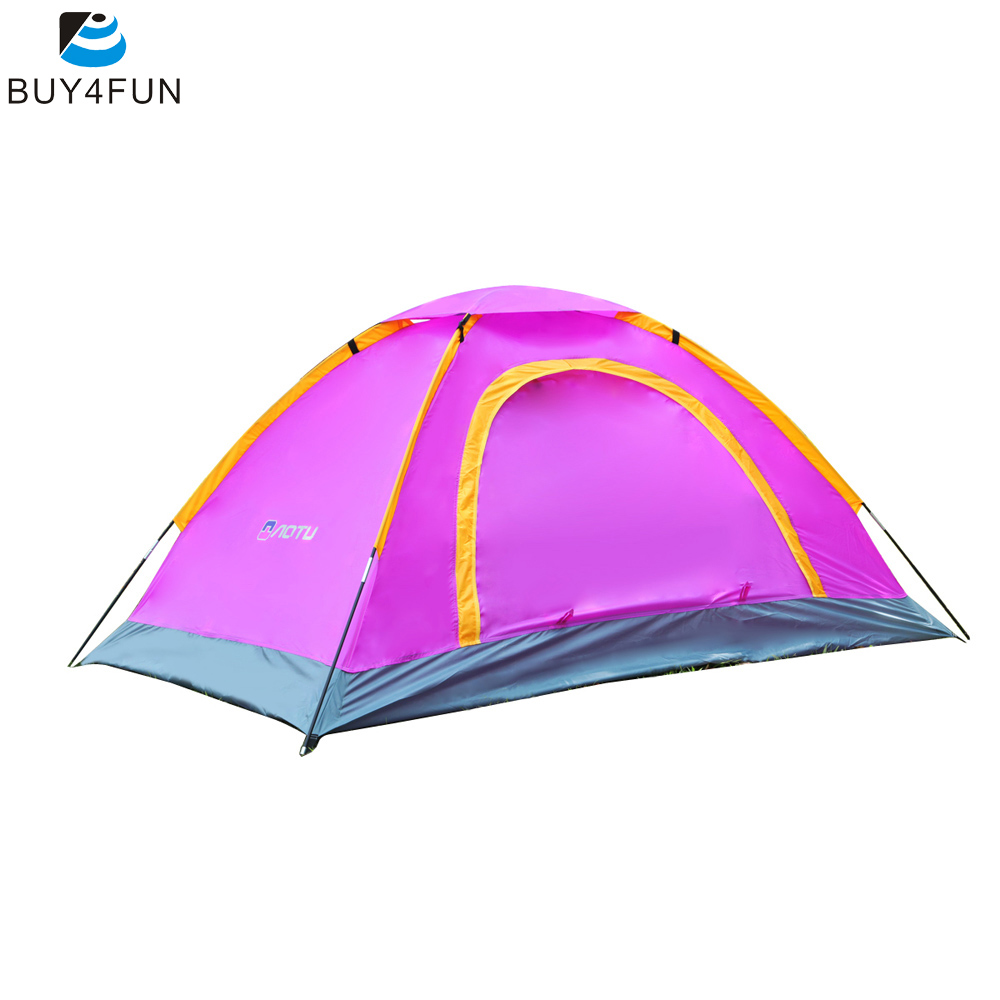 2 Person Tents Camping Tent Portable Waterproof UV-resistant Outdoor Travel Beach Tent(China (Mainland))