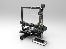 Dual Extruder Tarantula I3 Aluminium Extrusion 3D Printer kit printer 3d 2 Rolls Filament 8GB SD