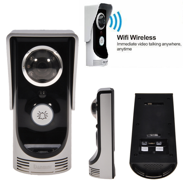 Здесь можно купить  Hot WIFI Video Intercom Door Phone Wireless Digital Smart Peephole Viewer Camera 2.0 Megapixel Night Vision Doorbell for Home  Аппаратные средства