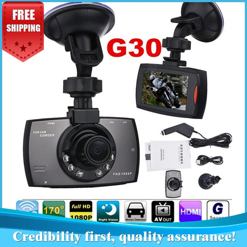 "Best Selling G30 2.7"" 170 Degree Wide Angle Full HD 1080P Car DVR Camera Recorder Motion Detection Night Vision G-Sensor K6000(China (Mainland))"