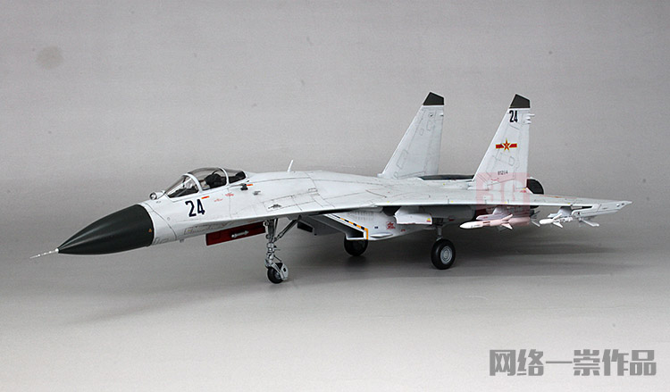 Trumpeter assembly aircraft model 01662 1/72 Chinese J-11B fighter model
