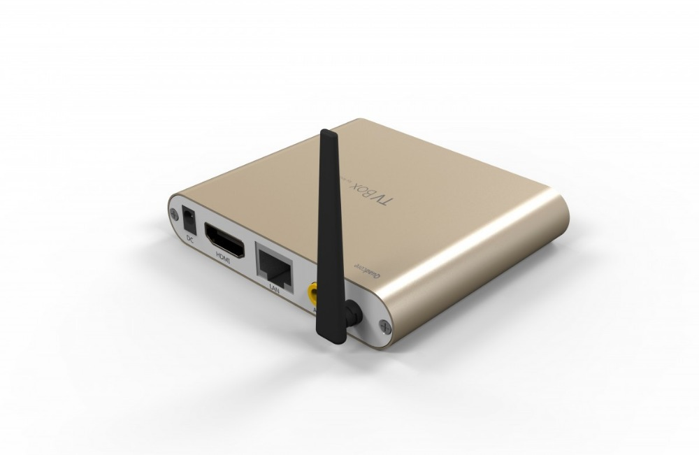 10pcs Gold Amlogic S805 Quad Core 1G/8G Android 4.4 TV Box 2.4GHz/5GHz Wifi LAN Bluetooth HDMI XBMC Media Player With Antenna(China (Mainland))