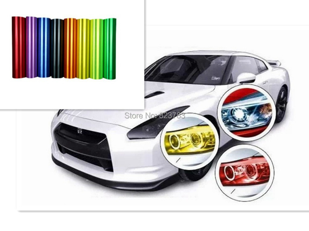 product 2015 Car Stickers / Motorcycle Taillight Cover Harmonia Light Headlamps Matte Black Film Auto Film
