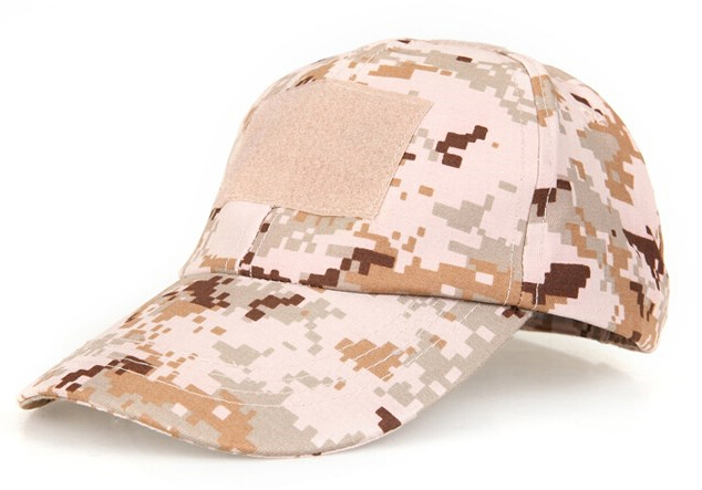 Outdoor Men Tactical Camouflage Velcro Cap Male Sports Combat Baseball Caps Sun Protection Visors Hat With PVC Patches Freeship(China (Mainland))