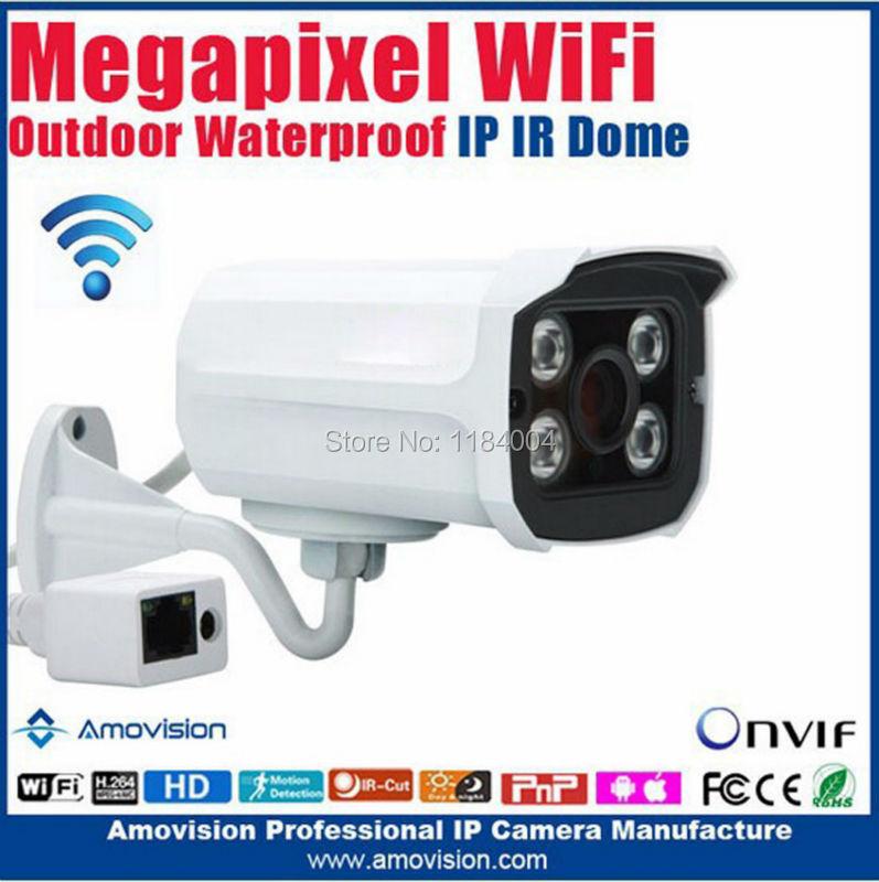 Amovision 1080p mp Indoor/outdoor waterproof IP66 MINI IR bullet wireless camera Q9300-WIFI IR Range 15m Day/Night Support WiFi<br><br>Aliexpress