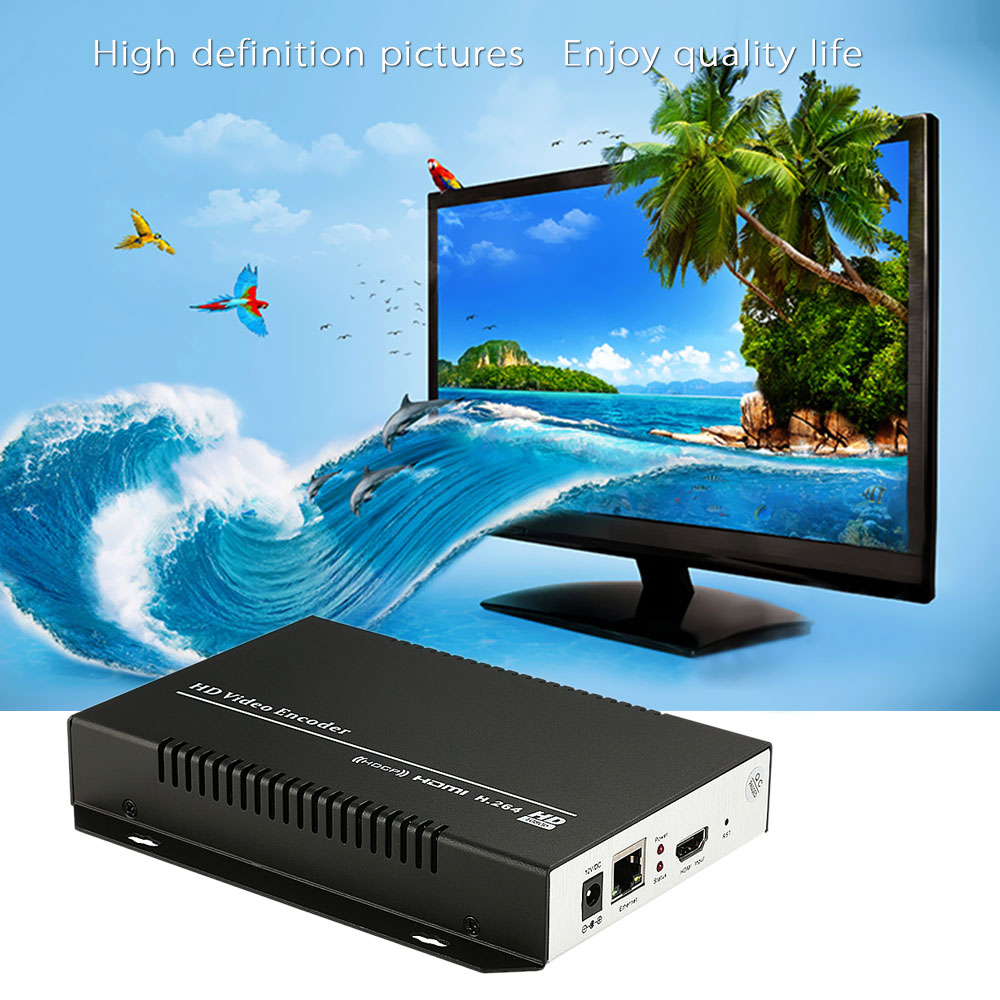 Original MINE MV-E1002 HD Video Encoder H.264 HDMI Video Encoder HTTP RTSP RTMPD UDP for IPTV Live Stream Broadcast US/EU Plug(China (Mainland))