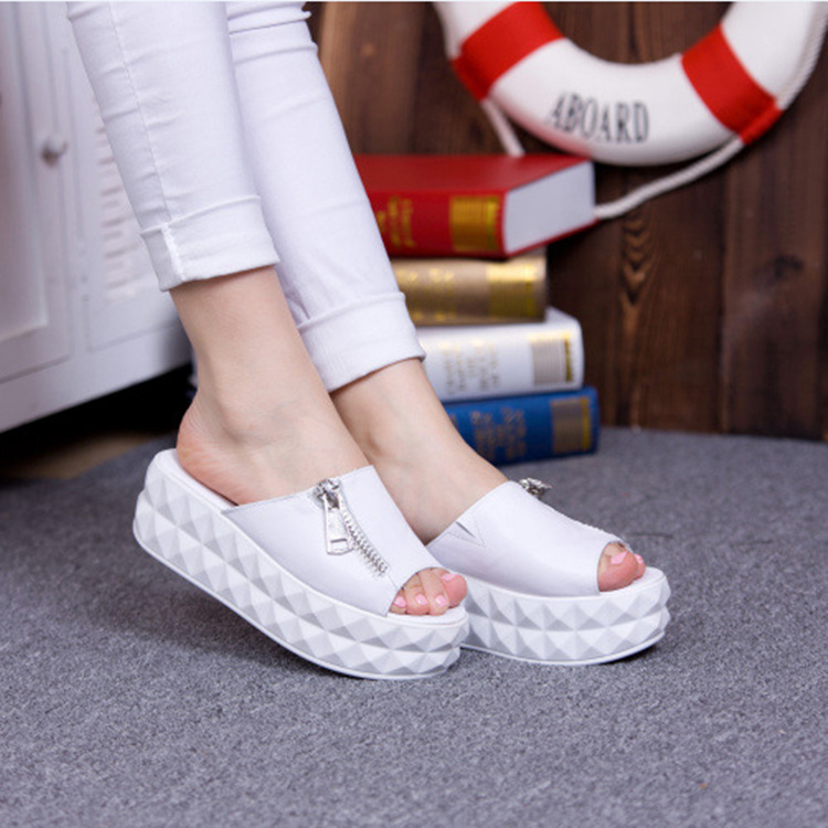 2014 summer new fashion explosion models slope with thick crust muffin sets foot wedges sandals for women(