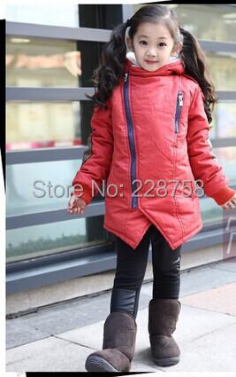 2015 winter clothing wild child oblique zipper thick cotton men women warm coat jacket big boy - Designershop2015 store