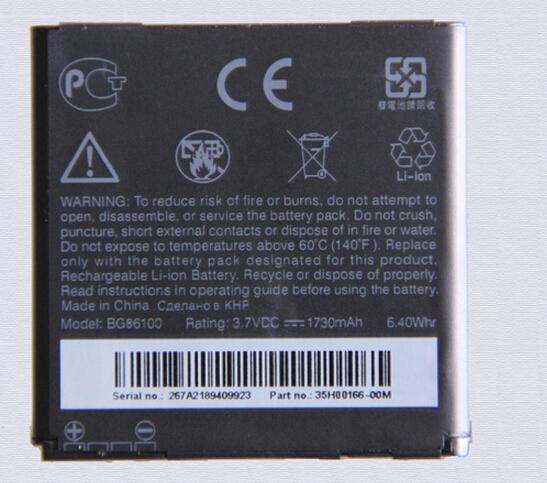 100 Original Battery BG86100 For HTC G14 Z710E Z710T EVO3D X515M X315D Z715E Sensation XE G18