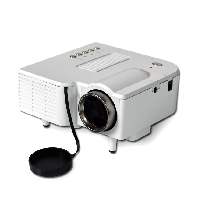 Gm40 mini hd home led projector 24w multimedia lcd image for Pocket projector video