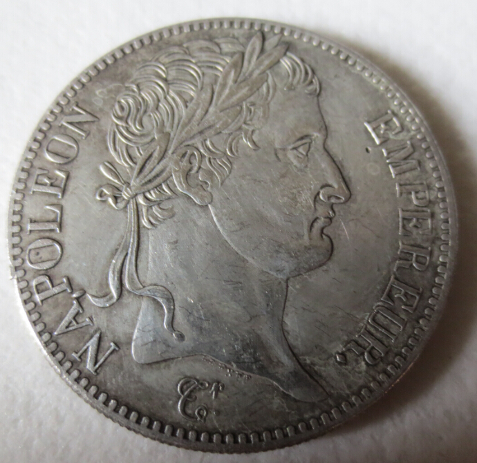1813-A France silver 5 francs NAPOLEON ROUEN MINT Coin copy FREE SHIPPING(China (Mainland))