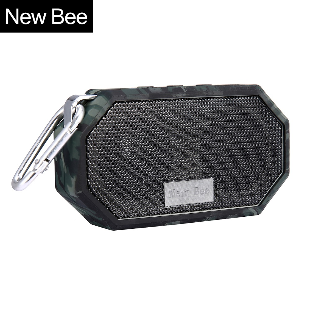New Bee Waterproof Wireless Bluetooth Speaker Mini Subwoofer Shower Portable speakers Hands-free Call Mic for Phone PC(China (Mainland))