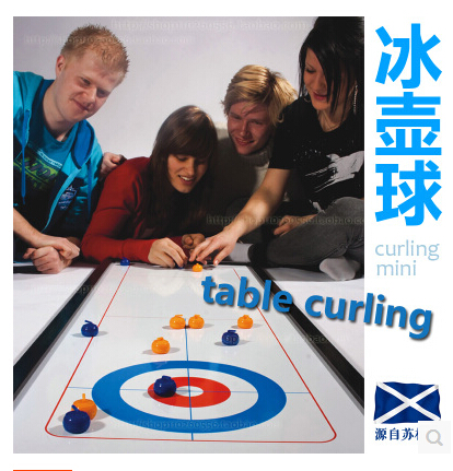 Free shipping :Curling table, shuffleboard outdoor leisure travel, pushing the ball game, curling,table Curling board games(China (Mainland))