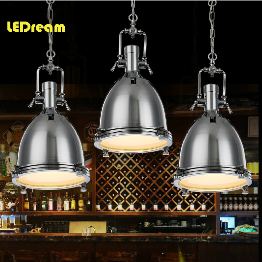 American vintage style loft chain pendant light country restaurant heavy metals industry the wind restoring ancient ways robles(China (Mainland))