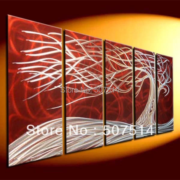 Metal Abstract Wall , Oil Painting Art. Modern Metal Art . Metal Sculpture Wall ART. Modern Contemporary Abstract Painting,
