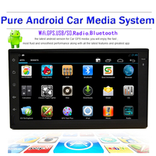 "Rear Camera+7"" Full-Touchscreen Android 4.2 Car Tablet PC Double 2Din In Dash Car Radio Stereo GPS Navigation No-DVD mp3 Player"