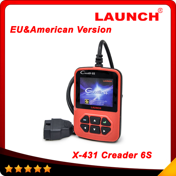 2015 OBD2 Scanner Launch X431 Creader VI Plus Code Reader Original Launch Creader 6S European & American version free shipping(China (Mainland))