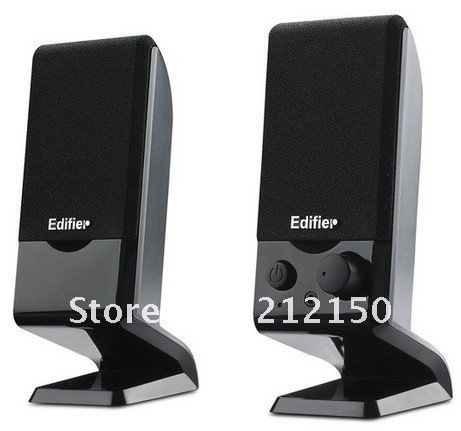 Free shipping notebook multimedia speakers system 2.0 channel computer PA sound box Real Edifier R10U