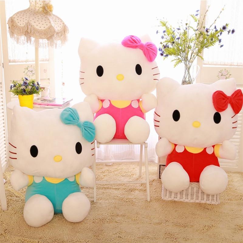 Hello Kitty Plush Stuffed Doll Toys 7'' Kawaii kids Girl Birthday Gifts 20CM(China (Mainland))