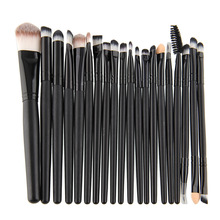 New Professional 20Pcs Cosmetic Makeup Brush Set Foundation Eyeshadow Eyeliner Lip Brand Make Up Brushes Set