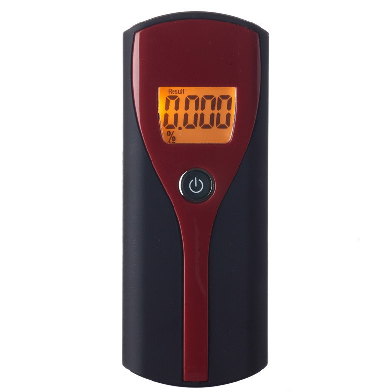Wholesale Professional Alcohol Breath Tester Analyzer with hand strap Digital Breathalyzer Alcohol Meter Analyzer Detector(China (Mainland))