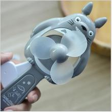 18cm NEW Portable Cartoon Lovely Animals  Panda Bear  Mini Cool Hand Pressure Fans Baby Children Kids Great Gift  Toy Wholesale(China (Mainland))