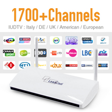 Buy IPTV Set Top Box Leadcool Android Wifi 1G/8G Include 1700 Italy Portugal French Receiver Europe Arabic IPTV Channels Package for $78.99 in AliExpress store