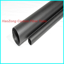 2 pcs 15MM OD x 12MM ID Carbon Fiber Tube 3k 500MM Long with 100% full carbon, (Roll Wrapped) Quadcopter Hexacopter Model 15*12