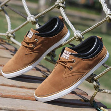 Brand Men Shoes Casual Lace Up Canvas Shoes Men 2016 Flats Shoes For Men Trainers Black#HR44