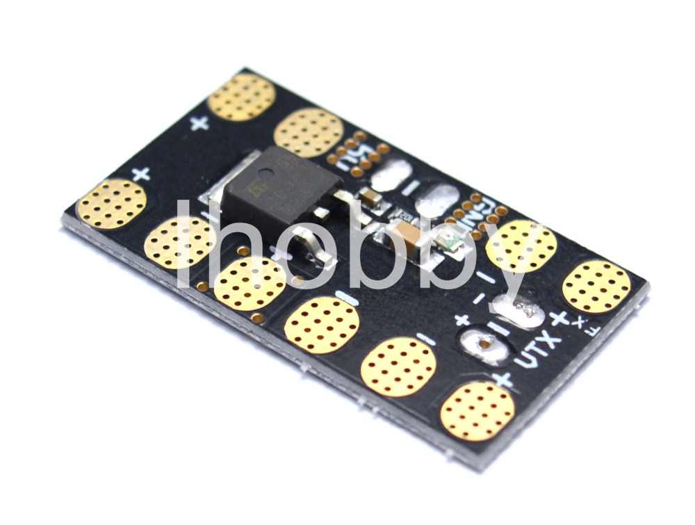 Mini Power Distribution Board With 5V BEC LED Lights For FPV 250 Multicopter(China (Mainland))
