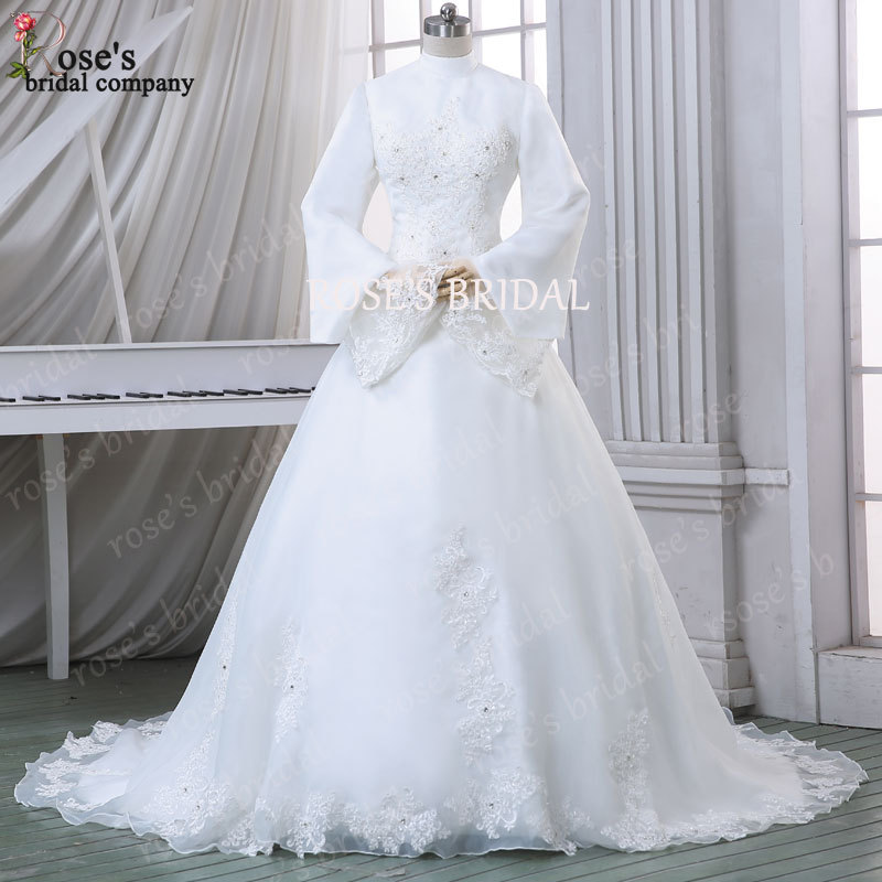 buy gorgeous 2016 muslim wedding dress