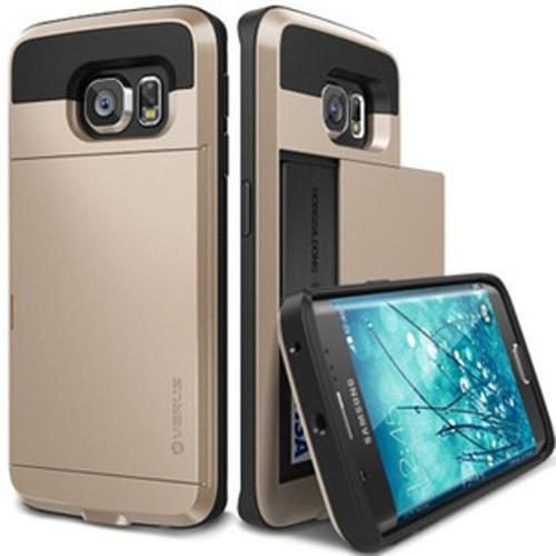 new s6 case Verus V4 Korean Slide Card Storage Card Holder TPU + PC Armor Tough Case for samsung galaxy s6 G9200(China (Mainland))