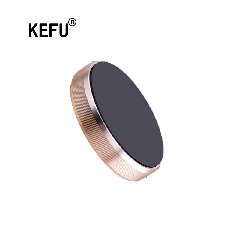 KEFU Mini Magnetic Mobile Phone Holder Car Dashboard Bracket Cell Phone Holder Stand For iPhone 6s For Sumsung s7edge s8 Magnet(China (Mainland))