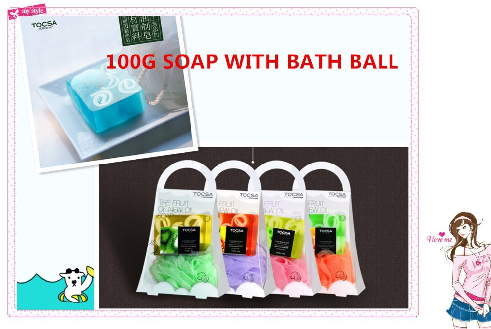 12PCSSoap WITH Bath ball Personal PartsPeach fruit essential oil soap whitening and hydrating moisturizing soaps Body Cleanser(China (Mainland))