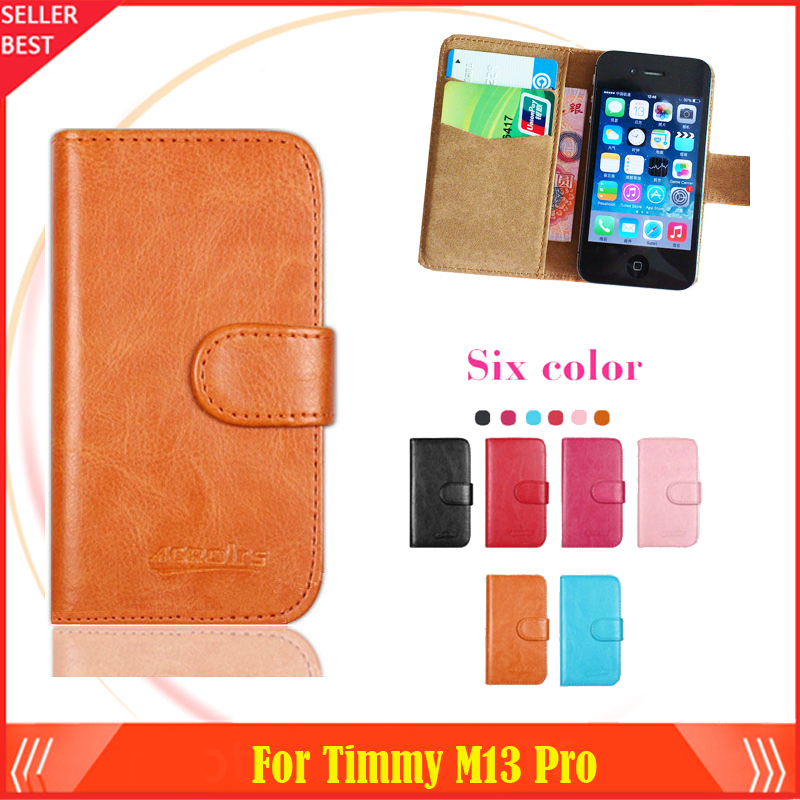 2015 New Arrive Dedicated Case For Timmy M13 Pro Luxury Slip-resistant Stand Protective Wallet Flip Leather Phone Cover Style