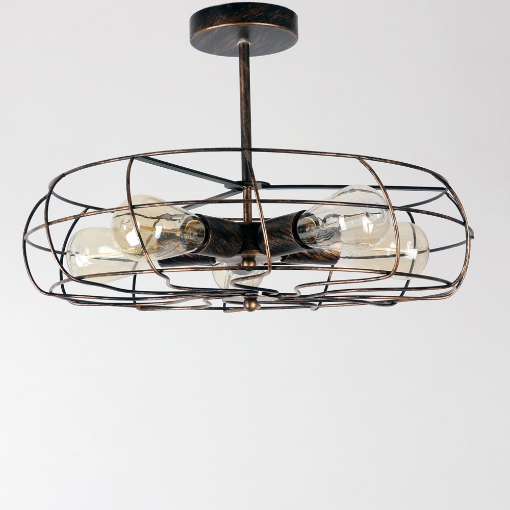Wrought iron ceiling fan with light shop kendal lighting aviator 42 in wrought iron downrod - Black iron ceiling fan ...