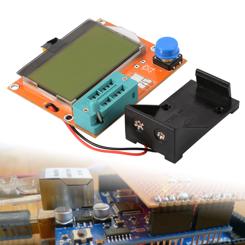 LCR-T3 LCD Transistor Diode Tester Mos Meter Capacitor Resistor Inductance SCR TE419(China (Mainland))