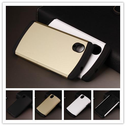 Tough Slim Armor Case For LG Google Nexus 5 E980 Cell Phone Cases Back Cover PY(China (Mainland))