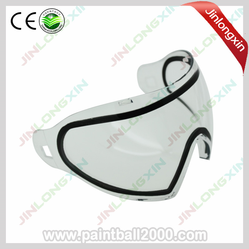 Clear Thermal Lens Goggle for Dye I4 Paintball Mask(China (Mainland))