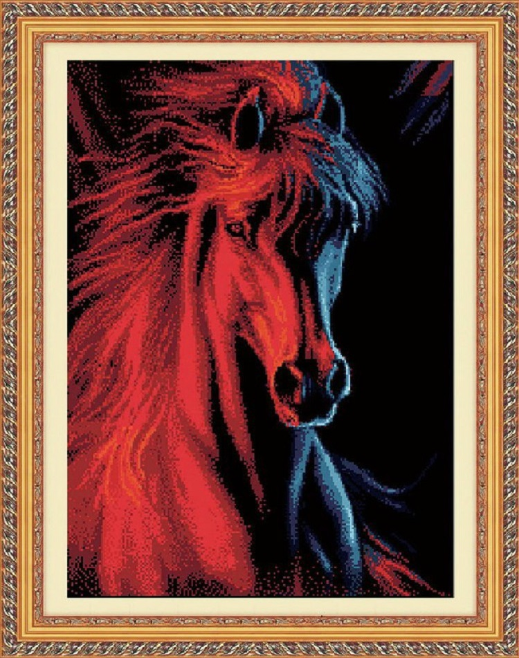 Qu 5d diy Horsehead 62 x 82 1299368186 5d diy 70 55