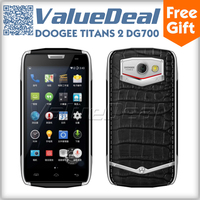 Original DOOGEE DG700 TITANS 2 IP67 MTK6582 Quad Core Mobile Phone Android 5.0 1GB 8GB 5MP 2MP Camera 3G OTG Waterproof 4000mAh
