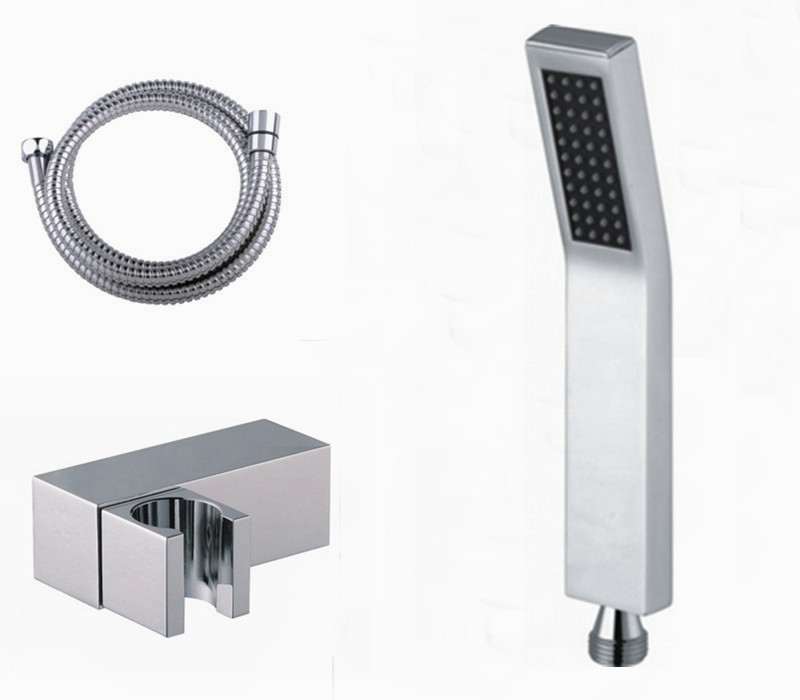 Free Shipping hand shower sets brass hand shower +1.5M stainless steel shower hose + abs holder TH006(China (Mainland))