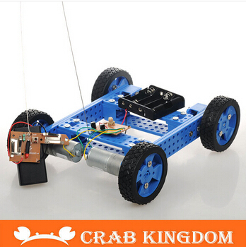 Exclusive development DIY technology with remote control toy car assembly production of high torque armored SUV No. 23(China (Mainland))