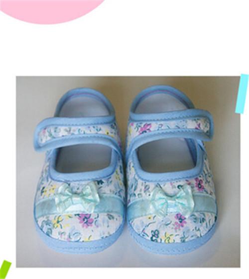 Горячая распродажа! детские впервые ходунки малыш обувь хлопок плоским дном 2 цвета белый розовый темно-синий бесплатная доставка