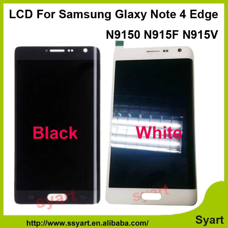 10pcs/lot DHL quality AAA China supplier For Samsung Galaxy Note 4 Edge N9150 N915F LCD Display Touch Screen Digitizer Assembly(China (Mainland))