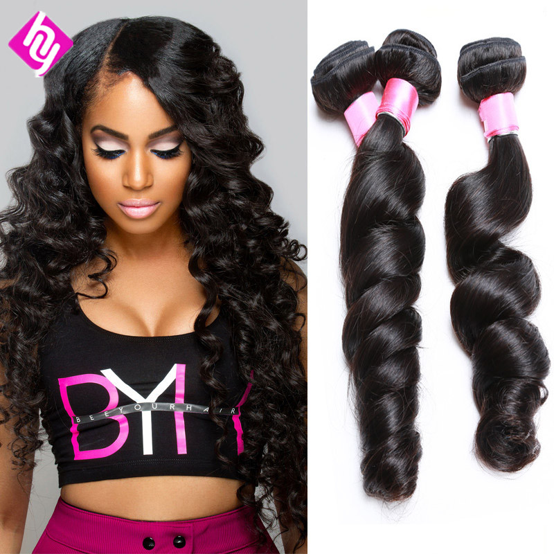Unprocessed Virgin Peruvian Hair Loose Wave Virgin Hair Bundle Deals 8-30 3pcs Lot Bele Virgin Hair Free Shipping No Tangle<br><br>Aliexpress