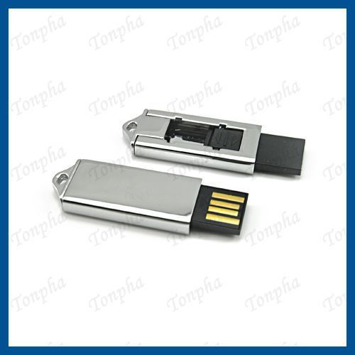 Free shipping  MOQ just 1pc  slide mini gift USB flash drive 8GB