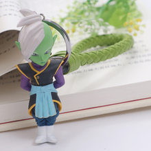 Anime dragon ball figuras de ação goku super saiyan zamasu preto deus da criação vegetto mai dragon ball z figura chaveiro brinquedos(China)