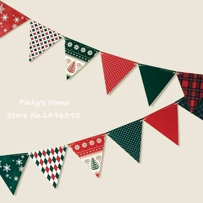 Kids party decoration bunting cute korea creative - Flag decorations for home ...