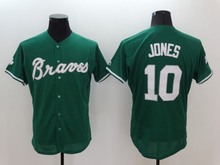 Men 6 Bobby Cox 10 Chipper Jones 24 Deion Sanders 44 Hank Aaron Man white gray red blue green top quality(China (Mainland))